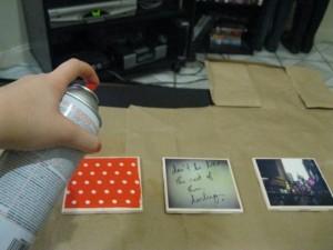 DIY crafts coasters: Step 4