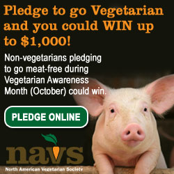 NAVS Vegetarian Pledge