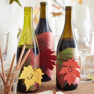leaf labels fall craft ideas