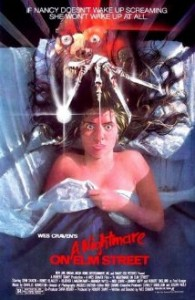 Scary movie: Nightmare on Elm Street