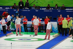 winter olympics curling
