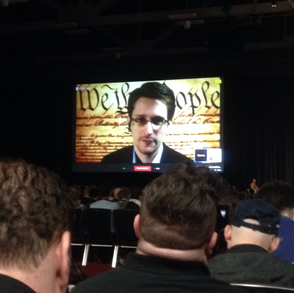Edward Snowden talks about secure digital encryption and online privacy.