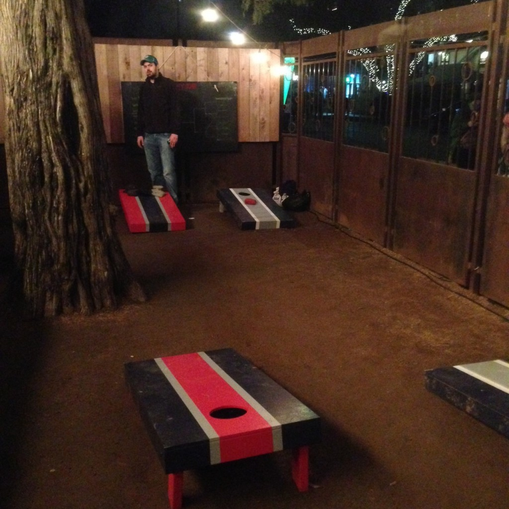 Corn-hole at SXSW