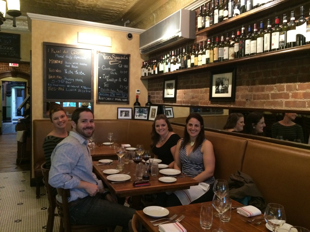 We do lunch! Check out the core blog team at a local favorite, Mima