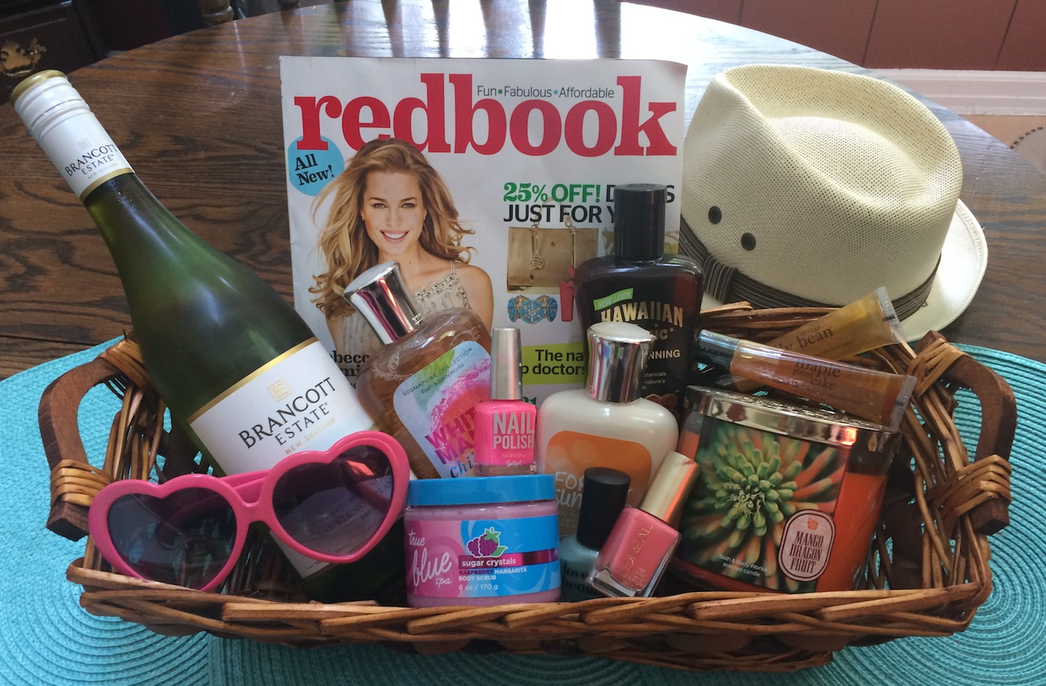 7 more summer gift basket ideas ripple street beautygiftbasket negle Image collections