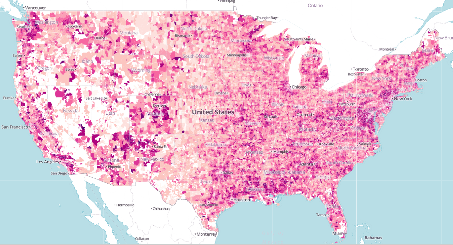 car commute map