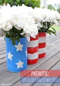 Patriotic-Can-Flower-Pots