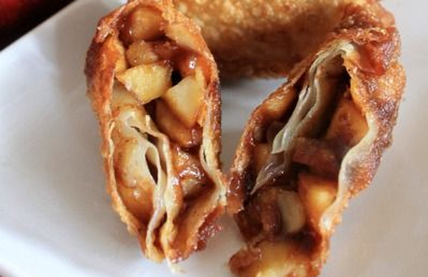 apple recipe for egg rolls
