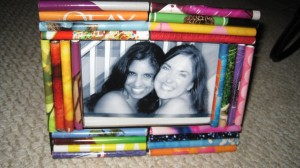 Turn magazines and memories into photo frame gifts!