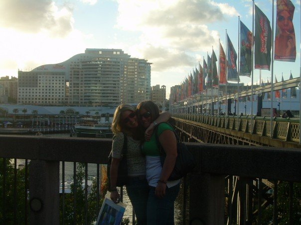 Me and my friend Cody in Darling Harbour