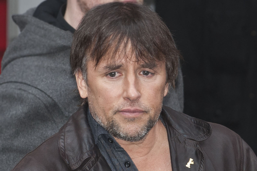 Richard Linklater after the press conference for