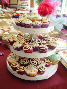 Kids love cupcakes and by baking them yourself you can save tons over a bakery cake.