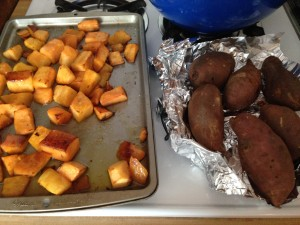 Sweet potatoes and butternut squash = Paleo carbs!