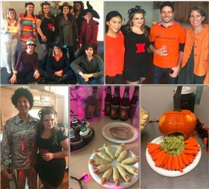 B2B Team Halloween Happy Hour