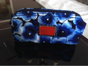 Marc by Marc Jacobs Pretty Nylon Aki Floral Small Cosmetic Bag - RETAIL Value $78...I paid $12