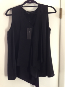 BCBG MAX AZRIA Cyprein Drape Tunic Top - RETAIL Value $168...I paid $37