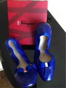 Salvatore Ferragamo My Joy flats - RETAIL Value $350...I paid $99