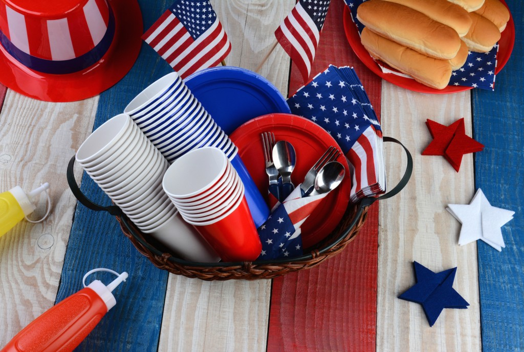 Memorial Day party cups
