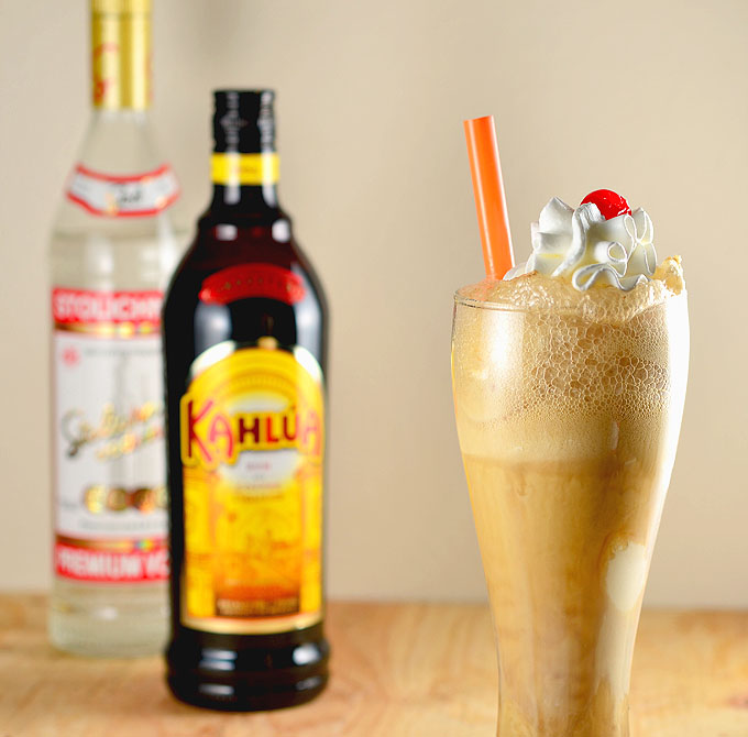 russian root beer float ice cream soda
