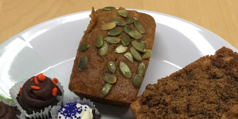 gluten-free desserts pumpkin loaf