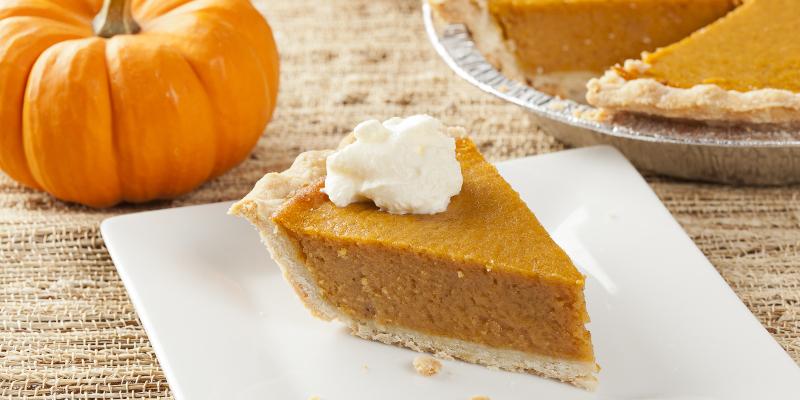 gluten-free desserts pumpkin pie