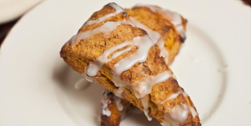gluten-free desserts pumpkin scones