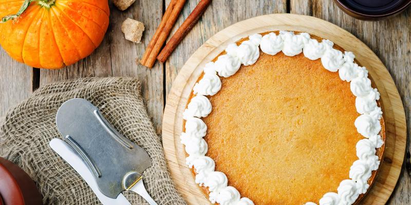 gluten-free desserts pumpkin cheesecake