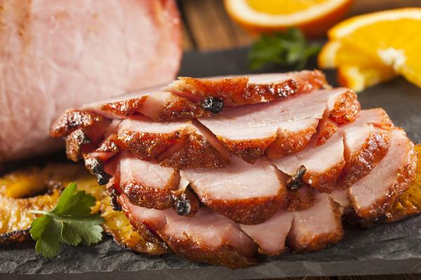 turkey alternatives orange ham