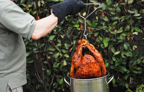 turkey alternatives deep fried