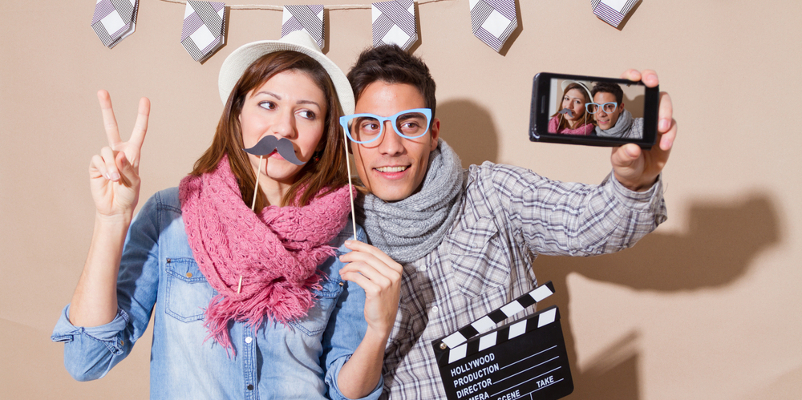 party planning tips photo props