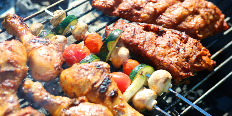 party planning tips grilling